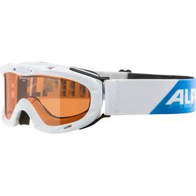 Alpina Ruby S Singleflex Hicon S1 Goggle Kids white-periwinkle
